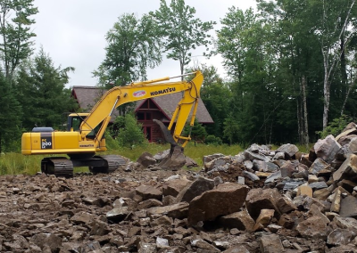excavation f. clement - labelle laurentides